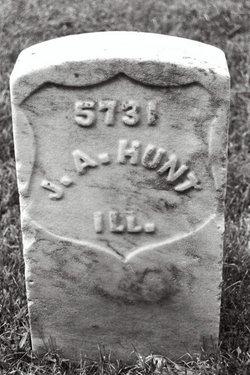 Pvt Joseph A. Hunt
