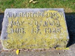 Alvin David Bartholomew