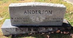 Mae Mildred <I>Templeton</I> Anderson