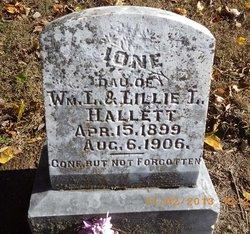 Ione Hallett