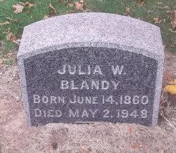 Julia W. Blandy