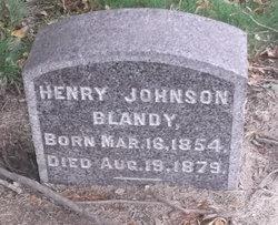 Henry Johnson Blandy