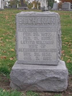 Letitia <I>Wildman</I> Buchanan