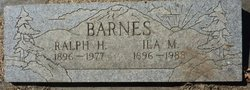 Ralph Hobart Barnes