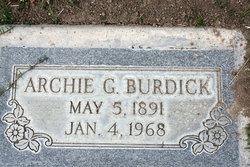 Archie Gilbert Burdick