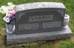 Anetta M. Varbel