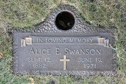 Alice E Swanson