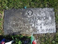 PVT George Waldo Horton