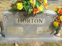 Louise <I>Martin</I> Horton