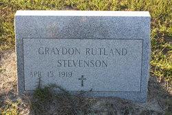 Graydon <I>Rutland</I> Stevenson
