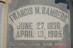 Gen Francis Marion Bamberg