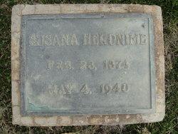 "Susana Marie ""Susie"" <I>Denning</I> Heronime"