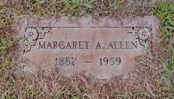 Margaret E. <I>Anderson</I> Allen