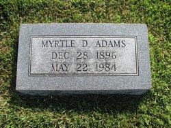 Myrtle Dixie <I>Smith</I> Adams