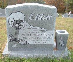 Vicki Lorene <I>McDaniel</I> Elliott