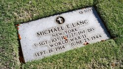 Sgt Michael E Lanc