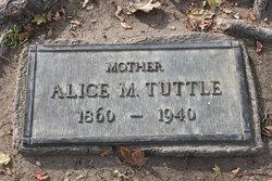 Alice Maria <I>Pitts</I> Tuttle