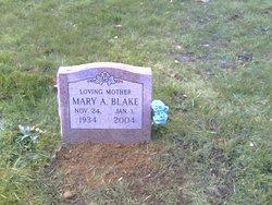 Mary Agnes <I>Lawton</I> Blake