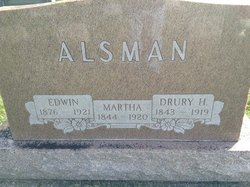 Anna Martha <I>Kizer</I> Alsman