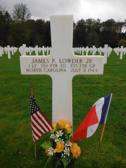 1LT James Paul Lowder, Jr
