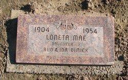 Loneta Mae <I>Dimick</I> Smith