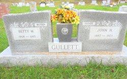 Betty M Gullett
