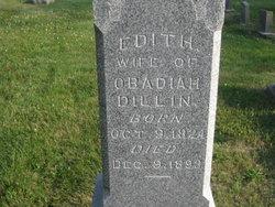 Edith <I>Welker</I> Dillin