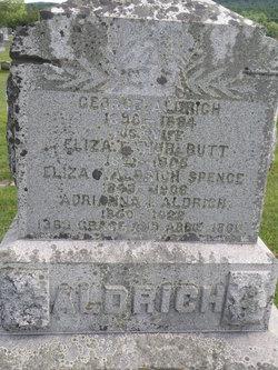 Eliza L <I>Hurlbutt</I> Aldrich