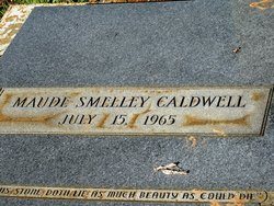 Maude <I>Smelley</I> Caldwell