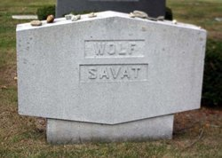 Rosalie <I>Savat</I> Wolf
