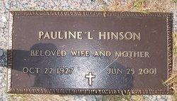 Pauline <I>Leonard</I> Hinson