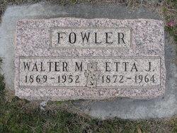 Etta Jane Fowler