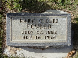 Mary Willis Fowler