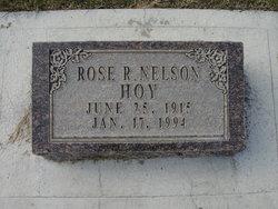 Rose Lillian <I>Rubis Nelson</I> Hoy