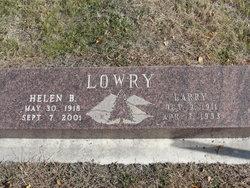 Lazelle Lowell (Larry) Lowry