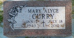 Mary Alyce Curry