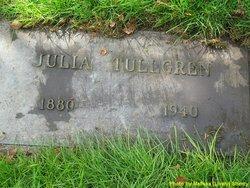 Julia <I>Hogman</I> Tullgren