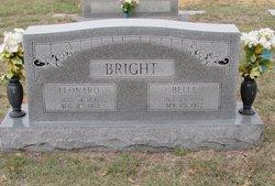 Mattie Belle <I>Callaway</I> Bright