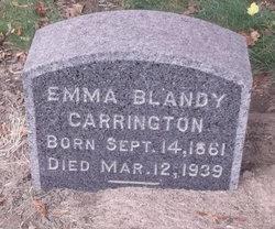 Emma <I>Blandy</I> Carrington