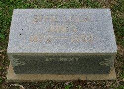 Effie Leigh Jones