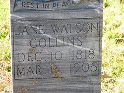 Jane <I>Watson</I> Collins