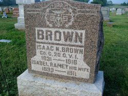 """Isabelle Francis """"Belle"""" <I>Ramey</I> Nickell Brown"""