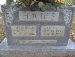 "Nancy Jane ""Jennie"" <I>Mangrum</I> Hughes"