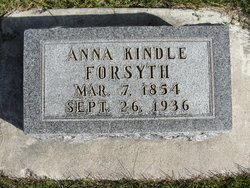 Anna E <I>Kindle</I> Forsyth