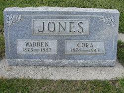 Cora A. <I>Simmons</I> Jones