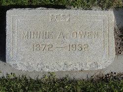 Minnie Alma Owen