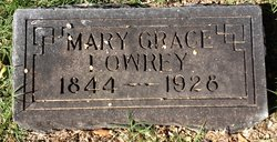 Mary Isabella <I>Grace</I> Lowrey