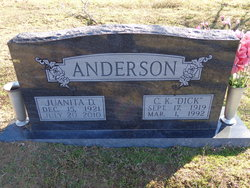 """Clarence Kirb """"Dick"""" Anderson, Jr"""