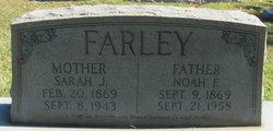 Sarah Jane <I>Tennison</I> Farley