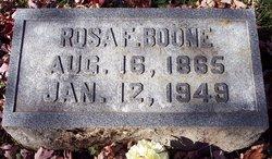 Rosa Franklin <I>Ware</I> Boone